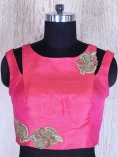 Shop Pink Circular Satin Silk Lehnga Choli By Video Shopping Sari Blouse Designs, Choli Designs, Salwar Designs, Fancy Blouse Designs, Blouse Neck Designs, Lehenga Saree Design, Stylish Blouse Design, Indian Designer Wear, Saree Blouse