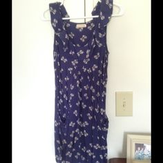 Urban Outfitters Pins and Needles sundress. Heavily worn UO Pins and Needles dress with ruffles, adorable bow pattern, and pockets. One of my favorites for many years. Size S. Great summer dress. Much loved. If you are crafty, it could be upcycled. Thanks for looking!  Urban Outfitters Dresses Mini