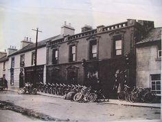Bernard Scanlon's shop Ballygar Ireland London Street, Historical Photos, Paths, Ireland, Street View, Explore, Shopping, History, Historical Pictures