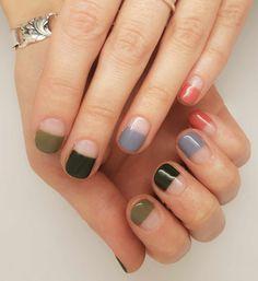 80 Awesome Minimalist Nail Art Ideas 80 Awesome Minimalist Nail Art Ideas,Naildesigns - must try! nail designs nails ideas ideas for winter nail art nail designs Diy Nails, Cute Nails, Pretty Nails, Clear Nails, Minimalist Nails, Minimalist Art, Nagel Gel, Easy Nail Art, Nail Art Diy