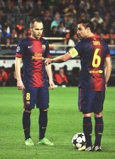 Xavi and Iniesta