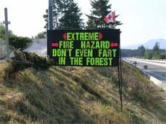 The ultimate fire danger!