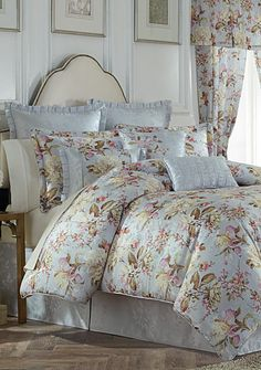 "Biltmore® ""Enchanting Bedding"" collection in powder blue - for powder-blue bedroom"