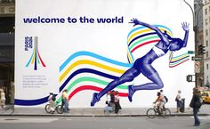 Logo project for the 2024 Paris Olympic Games - Graphéine - Graphic idea / Poster Design - Sport Sports Graphic Design, Graphic Design Studios, Sport Design, Tour Eiffel, Olympic Logo, Logo Concept, Sports Logo, Sports Art, Olympic Games