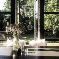 Summer feeling in our night black dining room! #Padgram