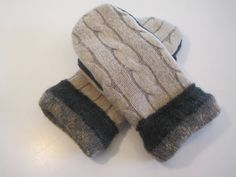 MMC0500 Melvindale Wool Mittens  med/lg by MichMittensbyLauri, $23.00