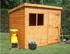 Information About Backyard Shed Plans. Small backyard tool shed.