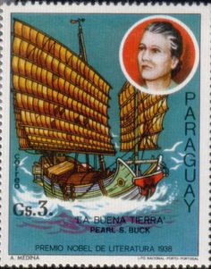 Literary Stamps: Buck, Pearl (1892–1973)