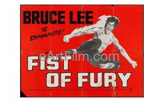 Happy Birthday #BruceLee #actors #martialarts #EntertheDragon #FistofFury #karate #wingchun #kungfu #GreenHornet   Fist of Fury 1973 30x40 Original British Quad Single Sided Movie Poster