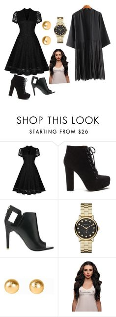 """closure"" by rose-ganda ❤ liked on Polyvore featuring Alepel, Marc by Marc Jacobs, Snö Of Sweden and graduationdaydress"