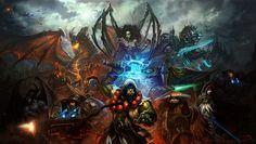 General 1920x1086 World of Warcraft StarCraft Warcraft Sarah Kerrigan elves Thrall zeratul