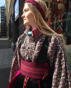 Velkommen til siste dag før #17mai hos #heimenhusfliden ! #heimen #husfliden #bunad #beltestakk #telemark #oslo #norway Norwegian Clothing, Fashion Terms, Tribal Dress, Wedding Costumes, Folk Fashion, Feminine Energy, Folk Costume, Festival Wear, Traditional Dresses