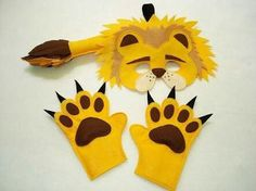 Diy lion costume