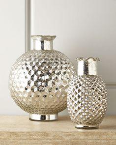 Horchow - Mercury Honeycomb Vases