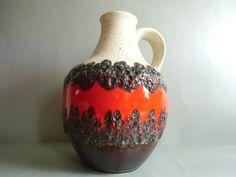 Bay Keramik  Fat Lava Vase von susduett  auf DaWanda.com