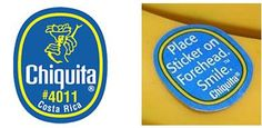 banana stickers - Google Search