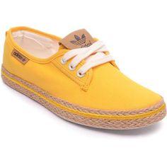 Tênis Adidas Originals Honey Plimsole Espadrille W - Amarelo  b915dab6eff60