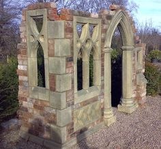 Imagini pentru designing a gothic garden folly