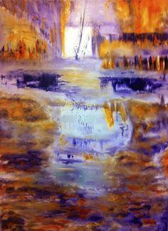 """""""In Depth""""  100 x 140 - Oil on linen www.shireenpharaony.com"""