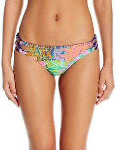 Trina Turk Women's Tropic Escape California Hipster Bikini Bottom California hipsterCross detail on each hip  http://outdoorgear.mobi/product/trina-turk-womens-tropic-escape-california-hipster-bikini-bottom/