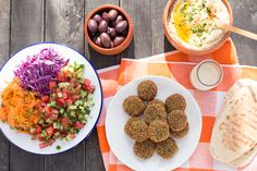 These classic falafels are the real deal, golden and crispy on the outside and soft on the inside. They're best enjoyed in a salad pita and tahini sauce.