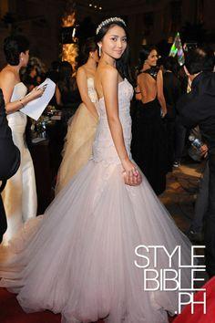 kathryn bernardo at smb 2012 Debut Planning, Debut Ideas, Kathryn Bernardo, Nice Dresses, Formal Dresses, Muslim Dress, Celebs, Celebrities, Dress First