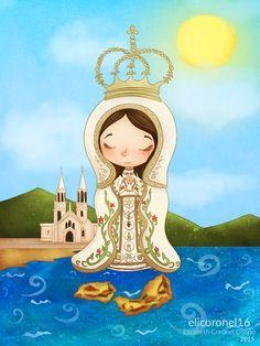Virgen del Valle by elicoronel16.deviantart.com on @DeviantArt
