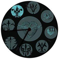 Clock MWL Design NL 0888012 from Living design and accessories MWL Design NL by DaWanda.com
