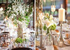 Enchanted forest wedding theme #weddingreception #woodlandwedding #forestwedding #weddingideas #weddingdecor