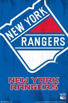 New York Rangers Logo Poster