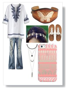 Boho style by sonjakolecki on Polyvore featuring Chicwish, American Eagle Outfitters, FitFlop, Charlotte Russe and Casetify