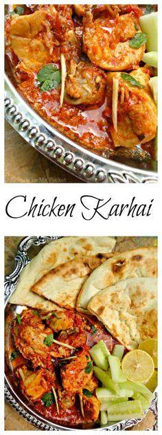 A true dhaba style karhai. Tender    Chicken Karhai
