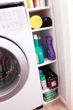 Super Clever Laundry Room Storage Solutions | The Owner-Builder Network