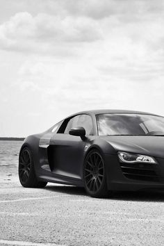 Audi R8 Audir8 Total Black Nera Totalblack Luxury Sport Car