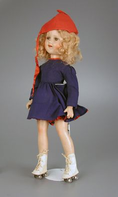 Sonja Henie doll, Madame Alexander Doll Co. ❤️ We saw her perform in the Ice Capades,as kids,