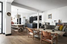 gravityhome:  Scandinavian apartment    Follow Gravity Home: Blog - Instagram - Pinterest - Facebook - Shop  http://ift.tt/2fDD9cP