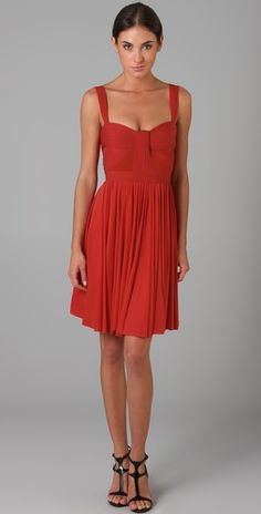 Zac Posen Short Flared Dress - omg obsessed with this!! too bad its $1,800 . . .