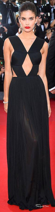 #Sara #Sampaioin Vionnet♔ Cannes Film Festival 2015 Red Carpet ♔ Très Haute Diva ♔