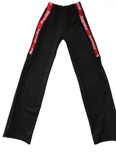bdc0a9070e8 Reconstucted Supreme Track Pants in Black