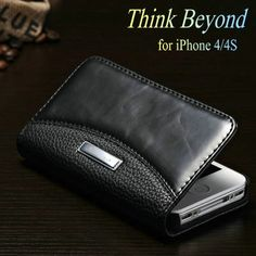For 4/4S Luxury Wallet Leather Case for APPLE iPhone 4S 4 Phone Bag Retro Flip Cover with Stand and Card Slot Price: USD 4.43 | United States