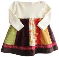 Persnickety Penelope Dress Multi Sizes 0-3m or 3-6m