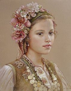 maria ilieva | Ressam Maria Ilieva , Sofya, Bulgaristan, da 1973 yılında doğdu.