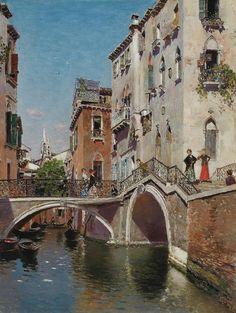 Martín Rico - Tarde de verano, Venecia