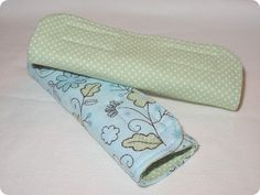 Car seat strap covers--good to have a few of these for those excessively drooling days!