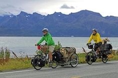 Traveling the world on bike with two dogs - National World Bike Touring | Examiner.com