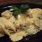 Crock Pot - Mushroom Chicken in Sour Cream Sauce Recipe