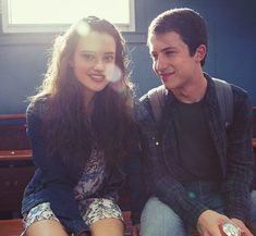 Clay and Hannah (Clannah) - Katherine Langford and Dylan Minnette 13 reasons why 13 Reasons Why Reasons, 13 Reasons Why Netflix, Thirteen Reasons Why, Joyce Meyer, Series Movies, Movies And Tv Shows, Tv Series, Clay And Hannah, Stranger Things