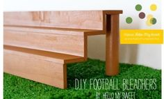 Let's talk football party decorations. It's been football party week here at Spaceships and Laser Beams. We've previously featured the gorgeous vintage football
