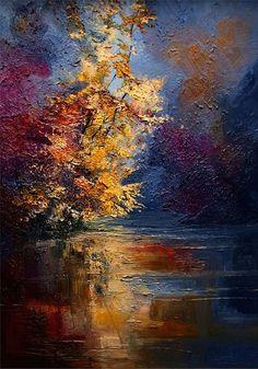 """Fog on the River"" artist Justyna Kopania"