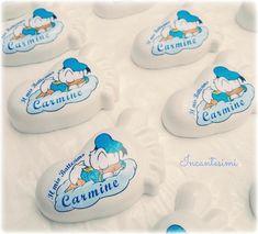 Piedini pronti per il battesimo del piccolo Carmine. Per info contattaci in privato.